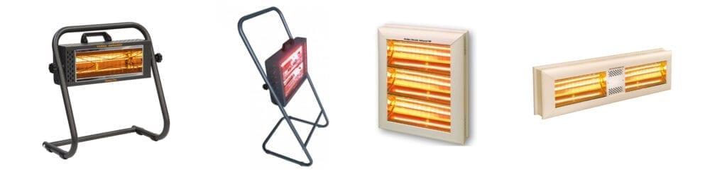 Kantoor verwarmen met infrarood